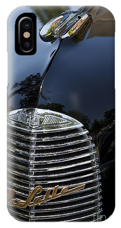 Classic IPhone X Case featuring the photograph 1940 Lasalle by Dennis Hedberg
