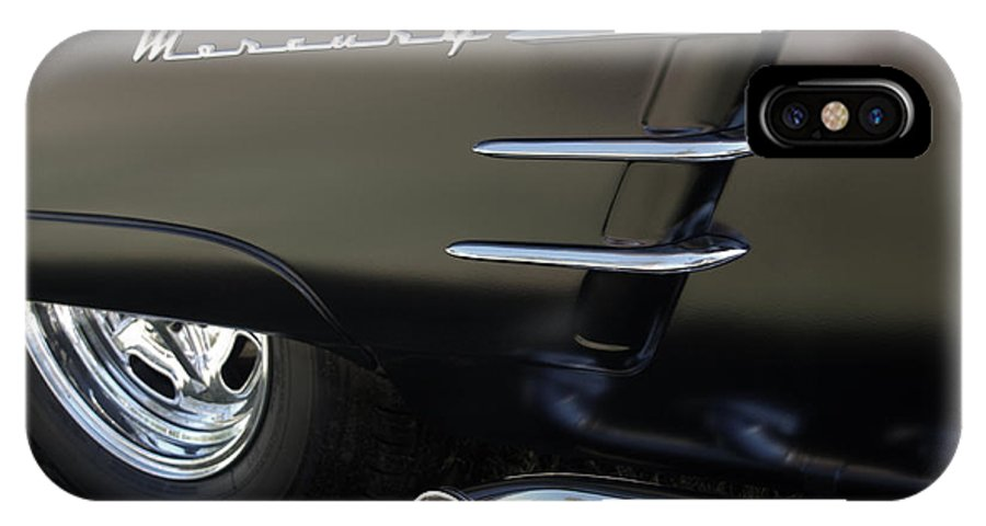 1953 Mercury Monterey IPhone X Case featuring the photograph 1953 Mercury Monterey by Peter Piatt