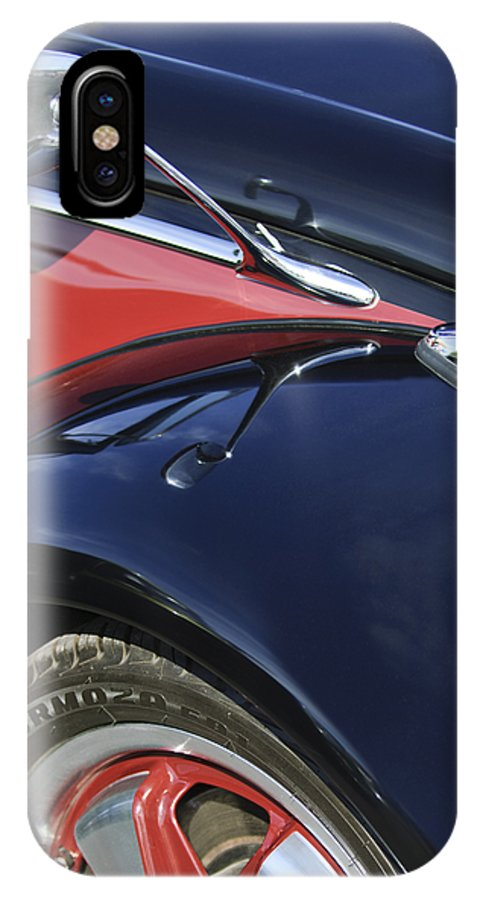 1966 Volkswagen Vw Bug IPhone X / XS Case featuring the photograph 1966 Volkswagen Vw Bug by Jill Reger