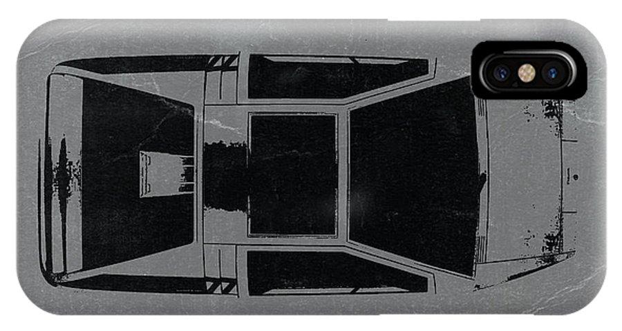 1972 Maserati Boomerang IPhone X Case featuring the photograph 1972 Maserati Boomerang by Naxart Studio