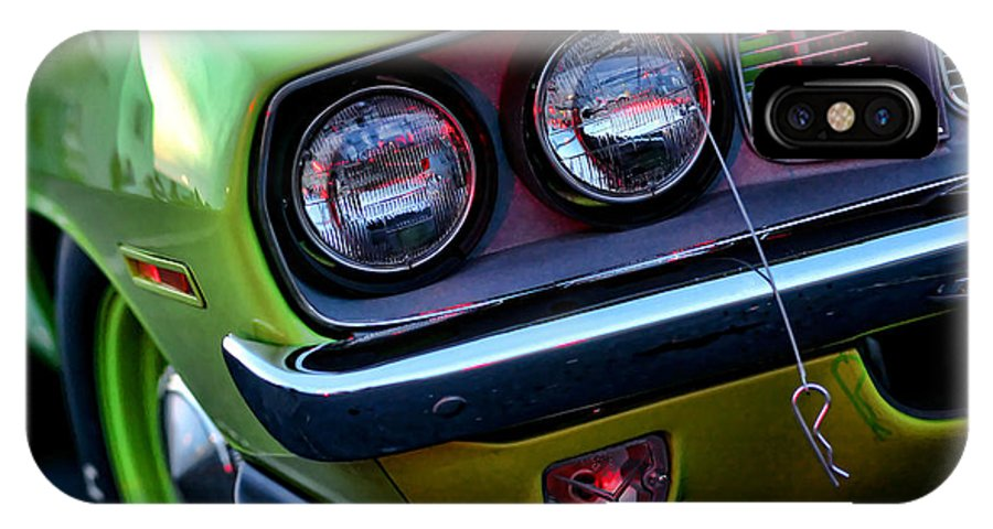 426 IPhone X Case featuring the photograph 1971 Plymouth Hemicuda by Gordon Dean II