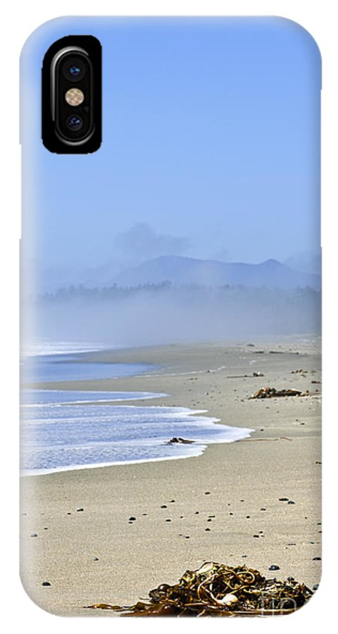 Pacific IPhone X Case featuring the photograph Coast Of Pacific Ocean In Canada by Elena Elisseeva