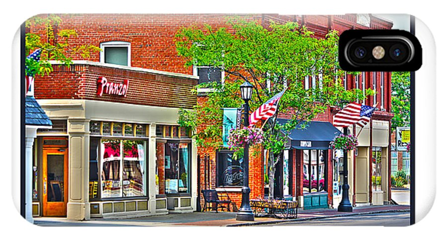Downtown Willoughby IPhone X Case featuring the photograph Downtown Willoughby by Jack Schultz