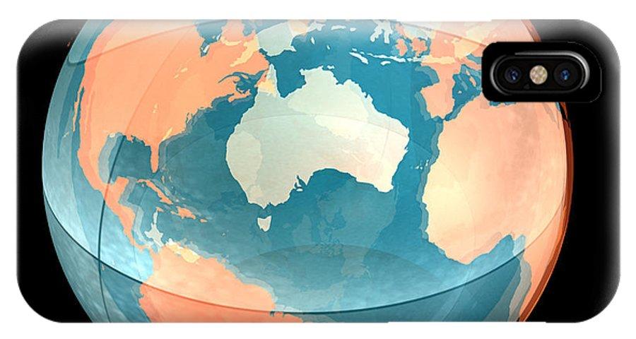 Atlantic Ocean IPhone X / XS Case featuring the photograph Earth, Computer Artwork by Laguna Design