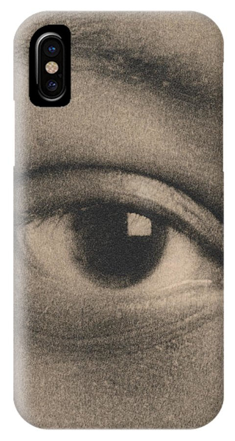 Eye IPhone X / XS Case featuring the photograph Eye by Cristina Pedrazzini