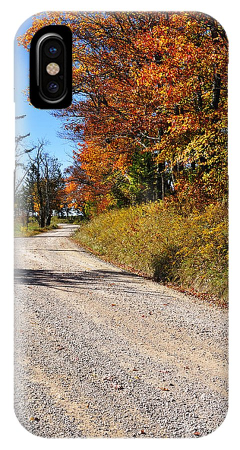 West Virginia IPhone X / XS Case featuring the photograph Fall Color Randolph County West Virginia by Thomas R Fletcher