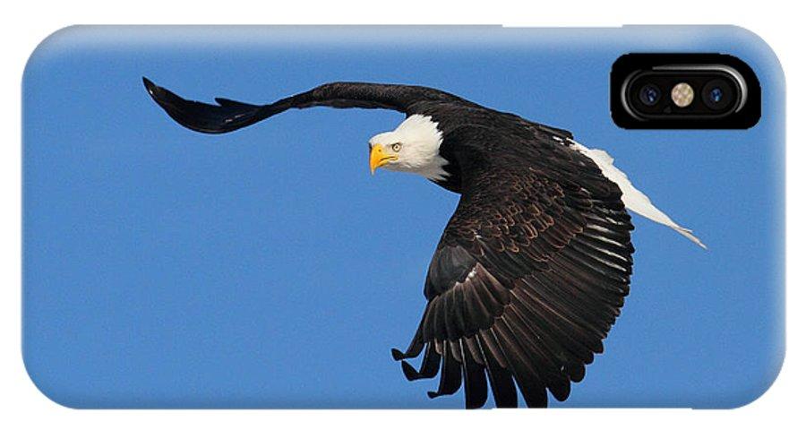 Doug Lloyd IPhone X Case featuring the photograph Hard Turn by Doug Lloyd