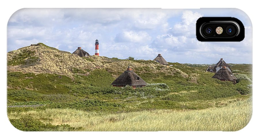 Frisian Houses IPhone X Case featuring the photograph Hoernum - Sylt by Joana Kruse