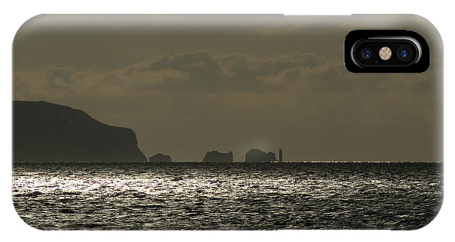 Isle Of Wight IPhone X Case featuring the photograph Isle Of Wight by Chris Day