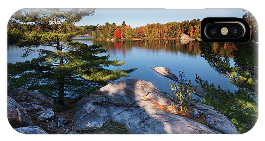 Lake IPhone X / XS Case featuring the photograph Lake George At Killarney Provincial Park In Fall by Oleksiy Maksymenko