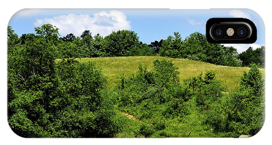 Farm IPhone X Case featuring the photograph West Virginia Farm by Thomas R Fletcher