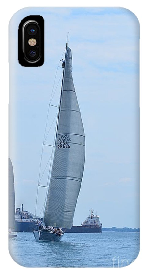 IPhone X Case featuring the photograph Windquest by Randy J Heath
