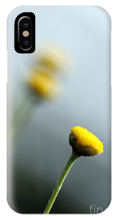 Plant IPhone X Case featuring the photograph Chamomile by Henrik Lehnerer