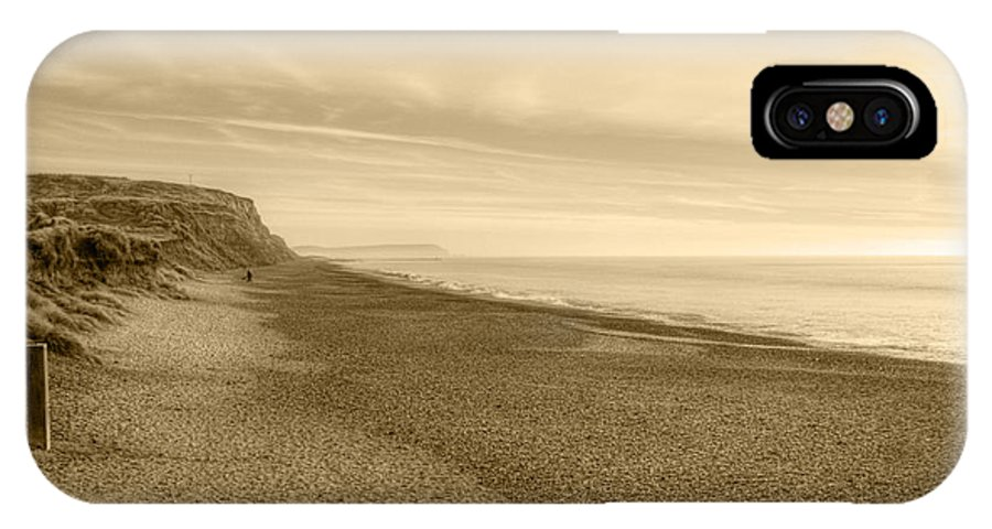 Hengistbury Head IPhone X Case featuring the photograph Hengistbury Head by Chris Day