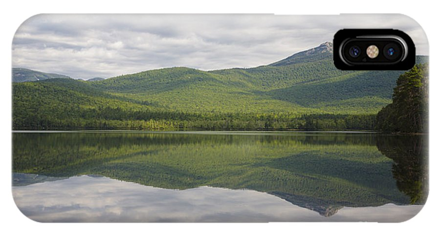 New Hampshire IPhone X Case featuring the photograph Chocorua Lake - Tamworth New Hampshire by Erin Paul Donovan