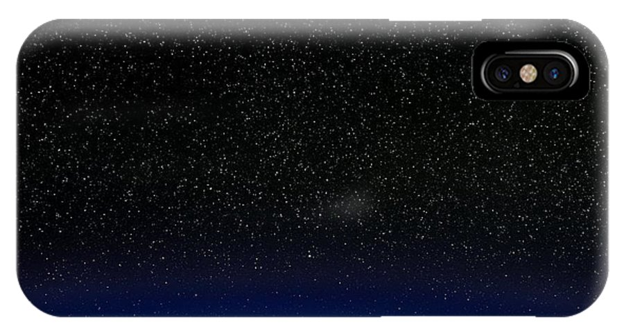 Star IPhone X / XS Case featuring the photograph Night Sky by David Nunuk