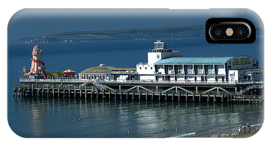 Bournemouth IPhone X Case featuring the photograph Bournemouth Pier And Beach by Chris Day