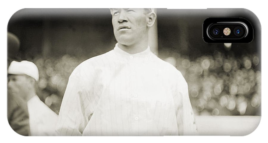 1913 IPhone X Case featuring the photograph Jim Thorpe (1888-1953) by Granger