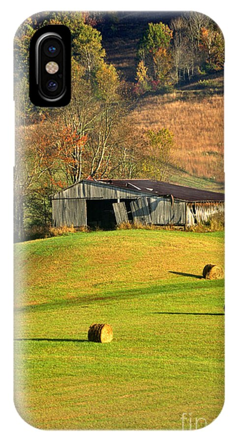 West Virginia IPhone X Case featuring the photograph Autumn Morning by Thomas R Fletcher