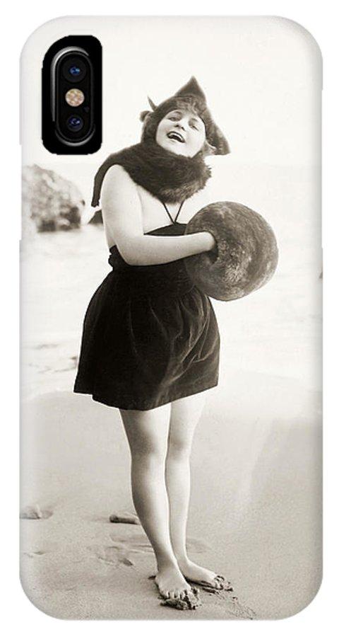 -beaches- IPhone X Case featuring the photograph Film Still: Beach by Granger