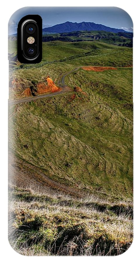 Country IPhone X Case featuring the photograph Landscape by Les Cunliffe
