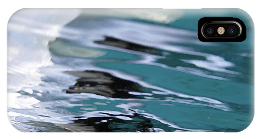 Water IPhone X / XS Case featuring the painting You Are The Ocean And I Am Drowning by Glennis Siverson