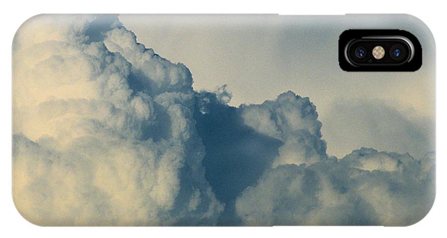 Cumulonimbus IPhone X Case featuring the photograph Cumulonimbus Clouds by One Rude Dawg Orcutt