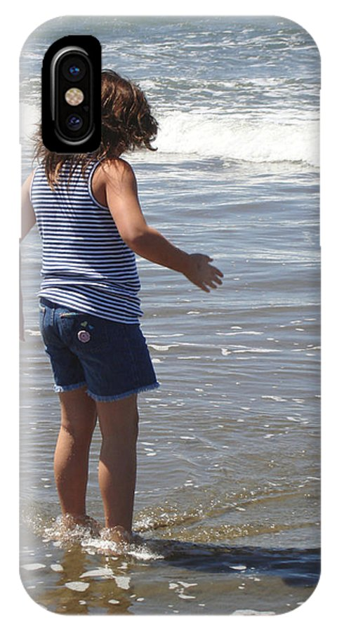 Ocean IPhone X Case featuring the photograph A Memory Of A Summer by Hiroko Sakai