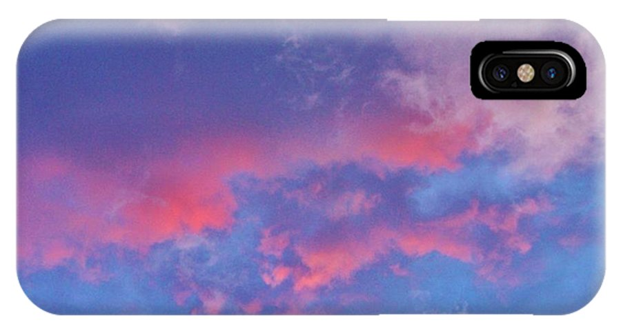 IPhone X Case featuring the photograph A Storm Rolls In From The West 37 by Peggy Miller
