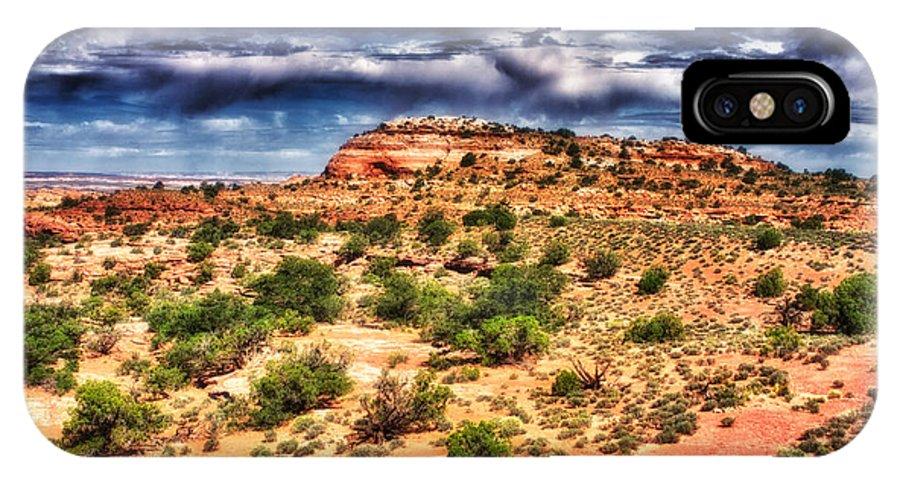 Utah IPhone X Case featuring the photograph A Utah Landscape by Jarrod Erbe