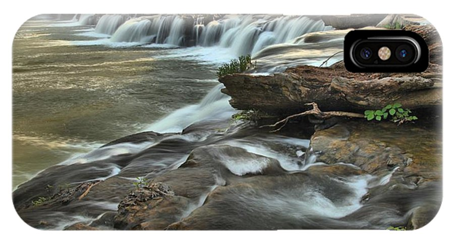 West Virginia Waterfalls IPhone X Case featuring the photograph A View Across The New River by Adam Jewell