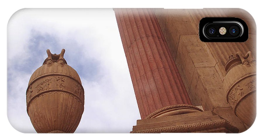 Palace Of Fine Arts Theatre San Francisco IPhone X Case featuring the photograph A View Of Fine Arts Theatre San Francisco No Four by Hiroko Sakai