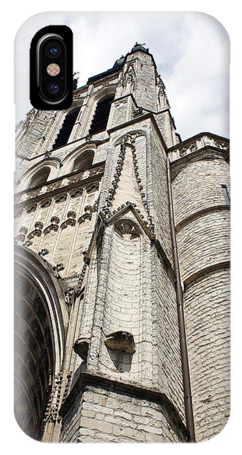 Architecture IPhone X Case featuring the photograph A Walk Through Kortrijk 3 by Jerrett Dornbusch
