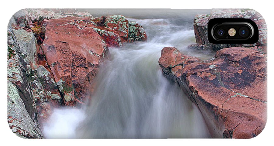 Castor River IPhone X Case featuring the photograph Above The Castor River Shut Ins II by Greg Matchick