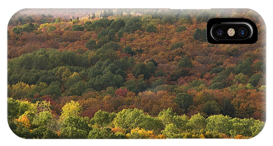 Fall IPhone X Case featuring the photograph Algonquin In Autumn by Cale Best