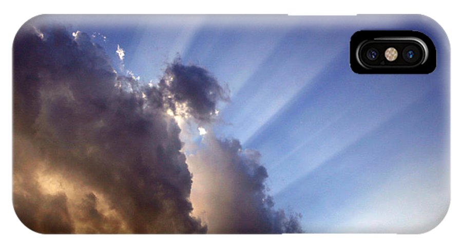 Sun IPhone X Case featuring the photograph Alive by Nina Fosdick