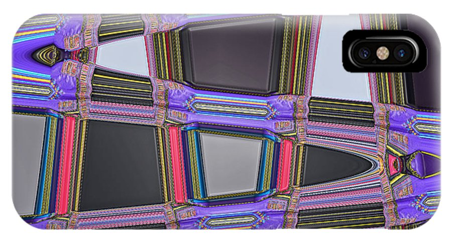 Digital Art IPhone X Case featuring the photograph All Roads Lead by Bill Owen