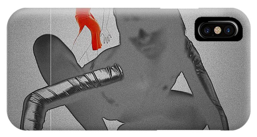 IPhone X Case featuring the digital art Ambush by Naxart Studio