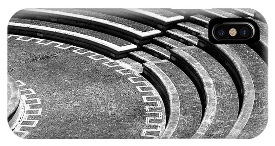 Amphitheatre IPhone X Case featuring the photograph Amphitheatre by Gaspar Avila