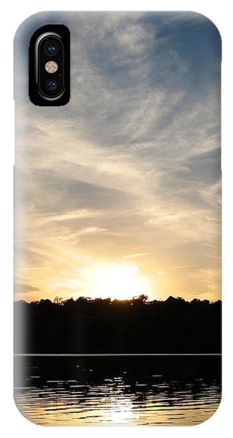 Colorado IPhone X Case featuring the photograph An Evening On The Water by Kimberlee Fiedler