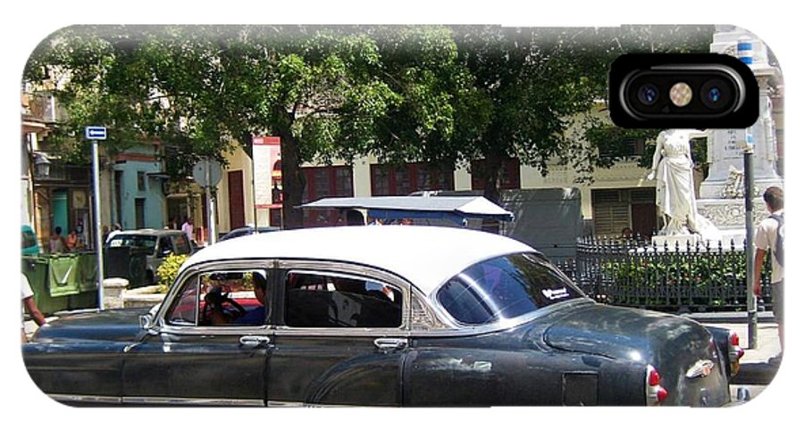 Car IPhone X Case featuring the photograph Another Classic Car by John Malone