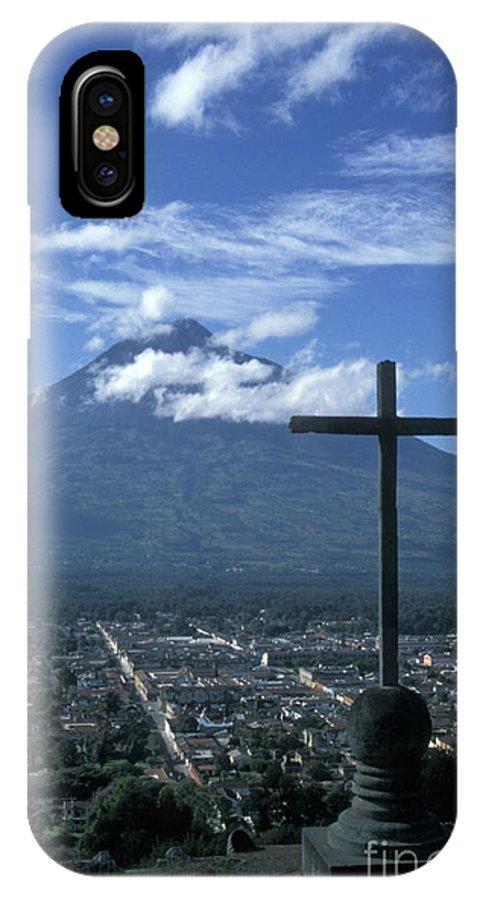 Guatemala IPhone X Case featuring the photograph Antigua Guatemala by John Mitchell