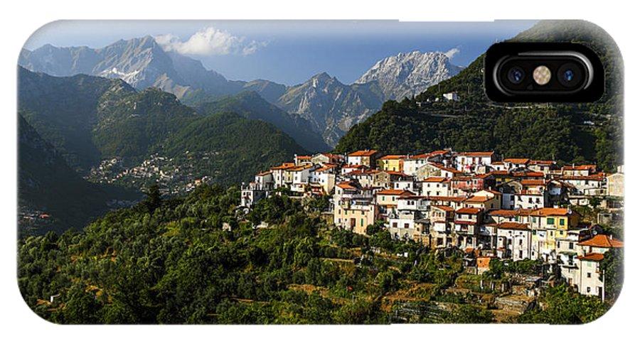 Toscana IPhone X Case featuring the photograph Antona by Cristian Mihaila