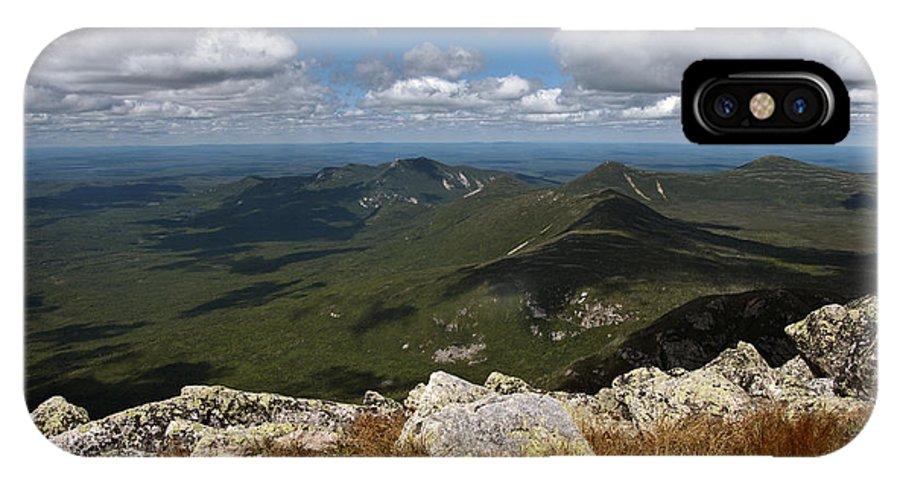 At IPhone X Case featuring the photograph Appalachian Trail View by Glenn Gordon