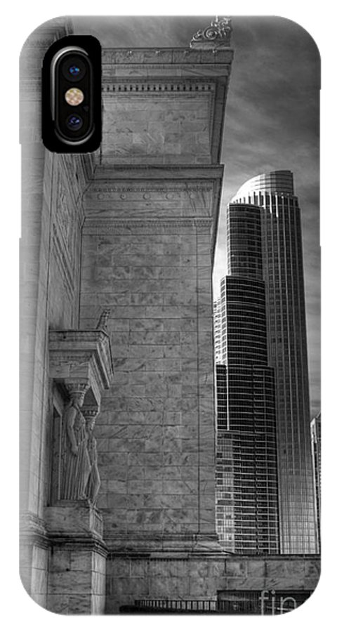 Hdr IPhone X Case featuring the photograph Architectural Evolution by David Bearden