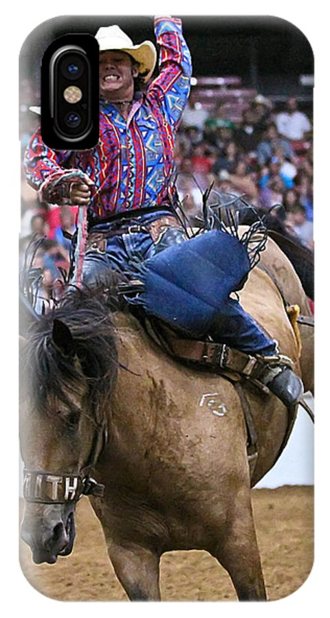 Rodeo IPhone X Case featuring the photograph Ardor by Elizabeth Hart