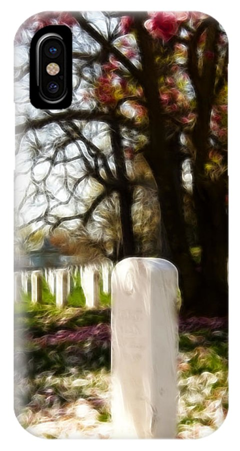 Arlington IPhone X Case featuring the photograph Arlington Cemetary by Darleen Stry