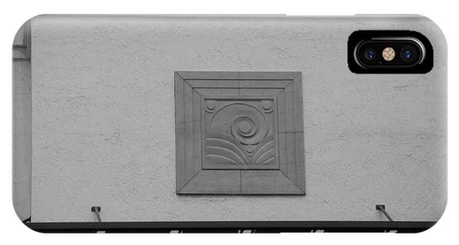 Scenic IPhone X Case featuring the photograph Art Deco by Rob Hans