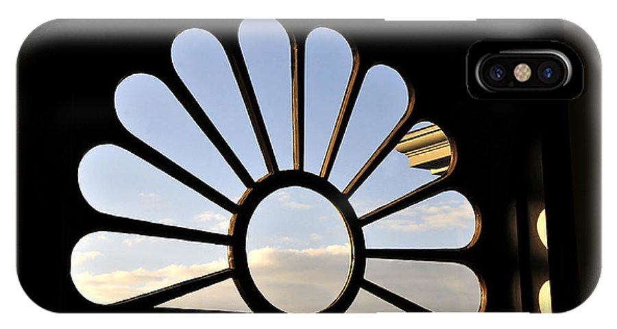 Fine Art Photography IPhone X Case featuring the photograph Attic Window by David Lee Thompson
