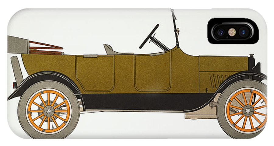 1919 IPhone X Case featuring the photograph Auto: Chevrolet, 1919 by Granger